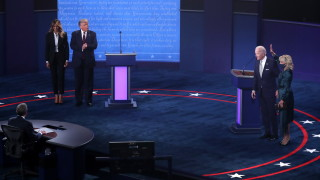 Над 73 млн. гледали дебата между Тръмп и Байдън