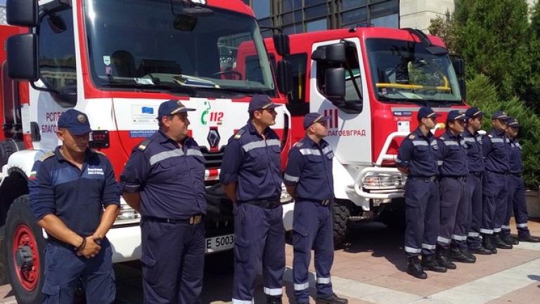Пожарникарите протестират срещу закриването на 12 служби