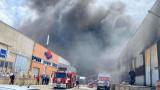 Гори пожар в склад за строителни материали в Пловдив