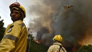 Русия изпрати два самолета в Португалия срещу горските пожари