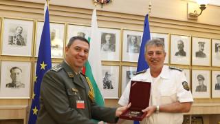 Новият военен аташе на Сърбия се срещна с ген. Емил Ефтимов у нас