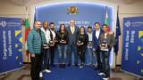 Министър Кралев награди призьорите ни от Европейското първенство по бокс