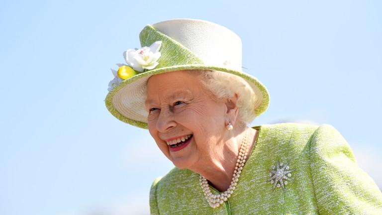Снимка: Кралица Елизабет Втора на 93