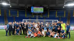 Лацио обърна Каляри и си гарантира място в Шампионската лига