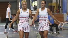 Габриела и Стефани Стоеви на 1/4-финал в Алмере