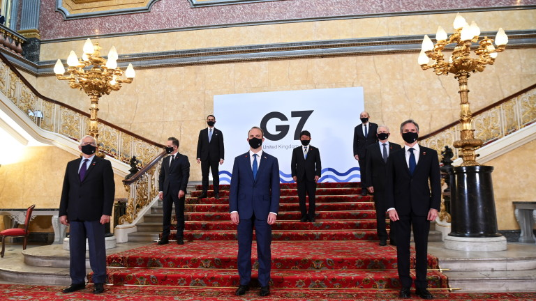 Китай и Русия са били основни теми на Г-7