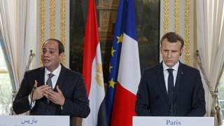 Макрон отказва да поучава Египет за човешките права