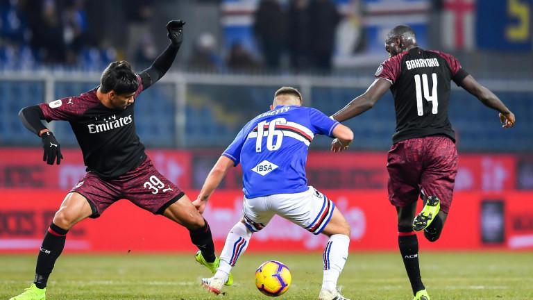 Милан продължава напред в турнира за Купата на Италия. Росонерите