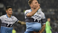 """Рим е син! Лацио разпиля Рома с 3:0 в голямото дерби на Серия """"А""""!"""