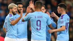 Манчестър Сити не срещна трудности срещу Саутхемптън за Карабао Къп