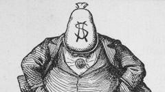 Крадливият политик, преборен от карикатура