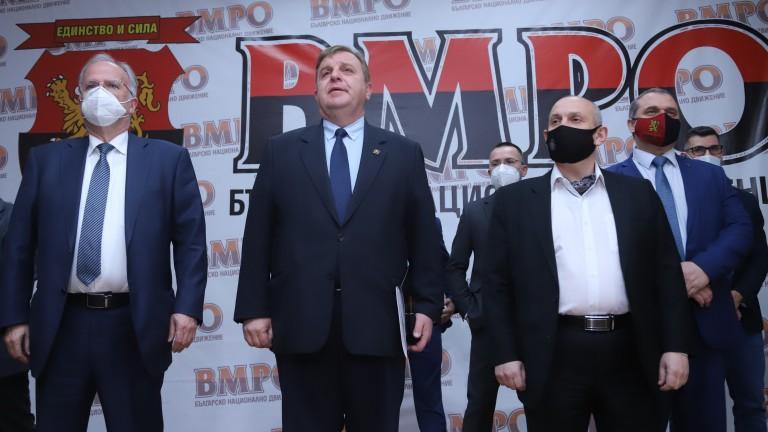 Кристина Димитрова, Искрен Пецов и Жени Калканджиева влизат в листите на ВМРО