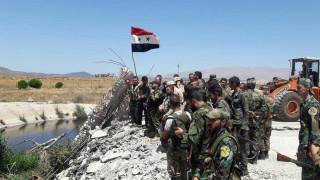 Развяха сирийско знаме в Кунейтра