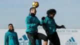 Кристиано Роналдо тренира на пълни обороти с Реал (Мадрид)