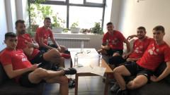 ЦСКА започна подготовка за атака на титлата и групите на Лига Европа (СНИМКИ)