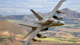 Два изтребителя F-18 се сблъскаха над Атлантика