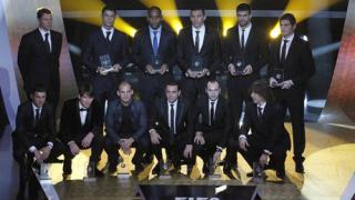 Шестима испанци в идеалния отбор на ФИФА