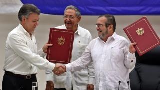 Колумбия сключва ново споразумение с ФАРК