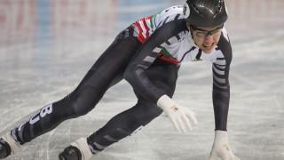 Димитър Георгиев се класира за втория кръг на 1000 метра на Световното по шорттрек