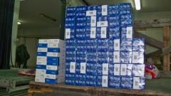 Задържаха 43 556 кутии цигари без бандерол