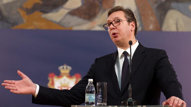 Вучич обяви, че Прищина не иска диалог с Белград