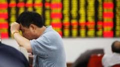 Спад на азиатските пазари