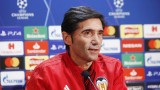 Треньорът на Валенсия: Независимо от резултатите, Манчестър Юнайтед си остава един от най-успешните отбори