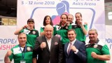 България с три титли от Европейското по бокс за жени, министър Кралев награди нашите шампионки