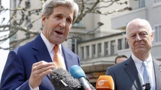 """Кери: Сирийската война """"в много отношения е извън контрол"""""""