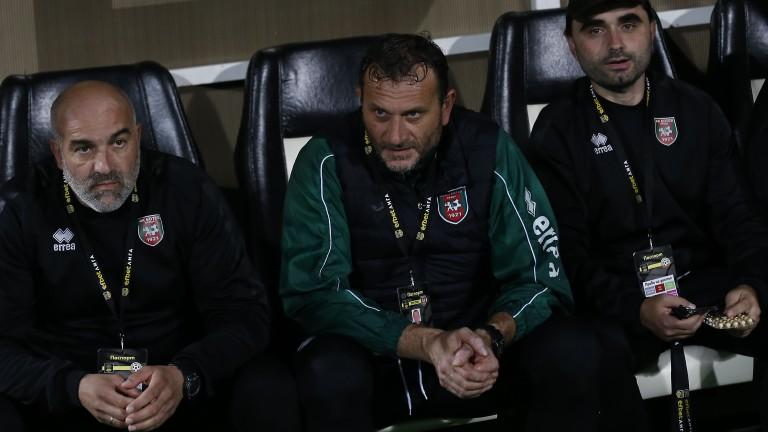 Илиан Василев, който води Ботев (Враца) в двубоя с Локомотив