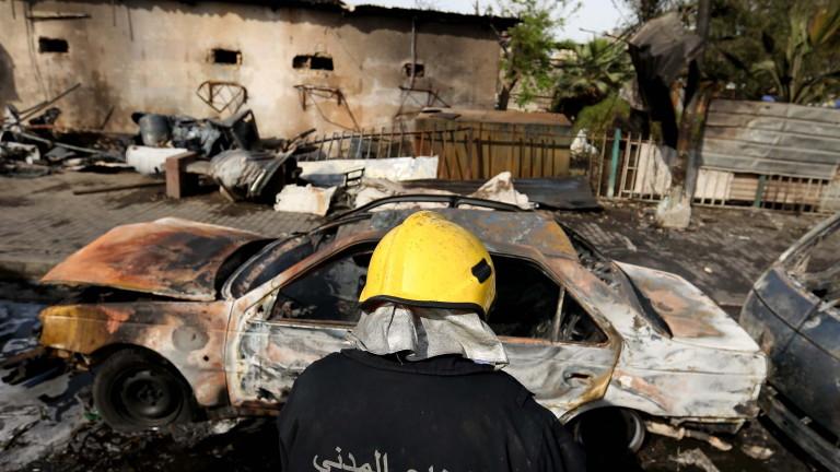 Неизвестни самолети атакуваха цели по сирийско-иракската граница