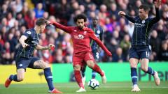 Ливърпул - Ман Сити 0:0, Марез пропусна дузпа