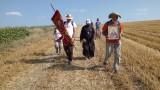 """Поклонниците от похода """"Светият път"""" пристигат в София"""