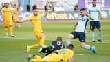 Арда - Дунав 0:2, гол на Щерев и автогол на Леони