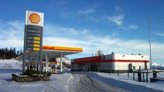 Маскиран обра бензиностанция край Нова Загора
