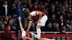 Капитанът на Арсенал със съмнения за счупена челюст