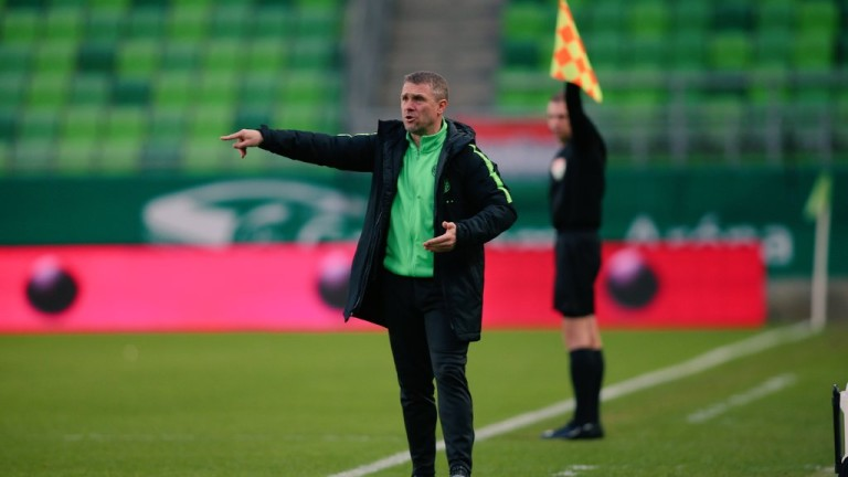 Серхий Ребров: До мачовете с Лудогорец трябва да си донаучим уроците