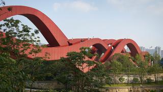 Китайският футуристичен 3 в 1 мост
