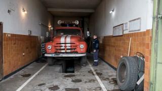 """Пожарникари дежуриха в торовия завод """"Неохим"""""""