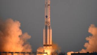 Европейската космическа агенция и Роскосмос изстреляха ракета към Марс