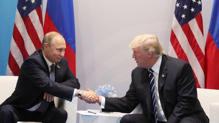 Тръмп смекчи тона към Русия, за враждата било виновно разследването за намесата ѝ