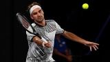 Роджър Федерер отнесе Беноа Пер на старта в Дубай