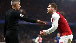 Челси - Арсенал 0:0 (Развой на срещата по минути)