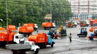 От утре мият улиците в центъра на София