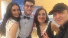 Българка открадна сърцето на израелския изпълнител Ави Бенеди