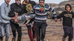 Повече от 30 ранени при нови сблъсъци в Газа