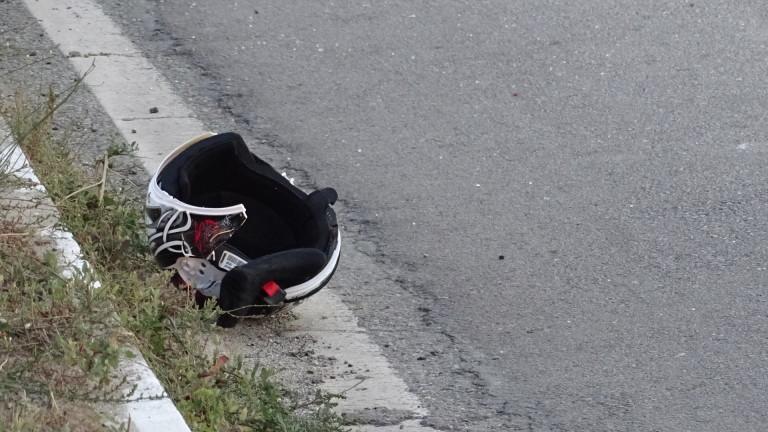 28-годишен моторист загина след сблъсък с лек автомобил на главен