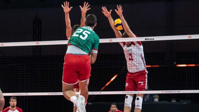 Шеста загуба за България във волейболната Лига на нациите