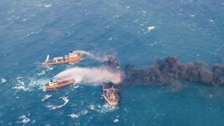 Невиждана екологична катастрофа след потъването на иранския танкер край Китай