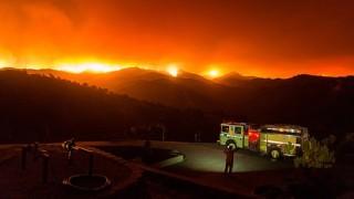 Калифорния в капана на пожари